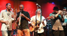 At Spaghettini Grill & Jazz, Seal Beach, CA with the (EOJ) Elements of Jazz TV All-Star Band