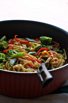 Plateful: Spicy Noodle Stir-Fry with Vegetables — Super Healthy and Easy Weeknight Meal