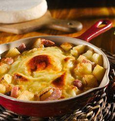 Reblochonade � la vraie recette de tartiflette de Savoie - �d�lices : Recettes de cuisine faciles et originales !