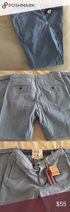 Jack Wills baby blue chinos Jack Wills baby blue chinos size 32R. Never been worn. Jack Wills Pants Trousers