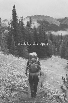 Galatians 5:16 ...walk and live [habitually] in the [Holy] Spirit [responsive to and controlled and guided by the Spirit]; then you will certainly not gratify the cravings and desires of the flesh (of human nature without God).  -AMP
