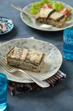 PASTELÓN DE BERENJENAS: Este delicioso pastelón de berenjena repleto de queso, y con una textura parecida a mousse, es una alternativa a los pastelones con carne que te va a encantar
