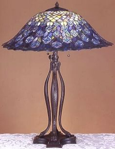 Best Tiffany Louis Comfort Images Glass Art Stained Lamps