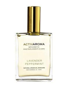ACTIVAROMA LAVENDER PEPPERMINT Bath & Body Oil