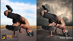 Awesome Photoshop - Hard Light Effects in Photoshop - (PSD Box)