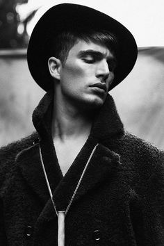 grabyourankles:  Julien Quevenne  in Black & White Editorial for Chasseur Magazine