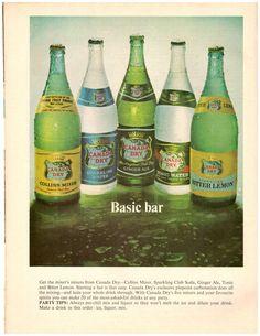 1967 Canada Dry Ginger Ale Soda Pop Retro Print Advertisement Ad Vintage VTG 60s