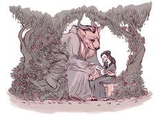 Megan Kearney's Beauty and the Beast (fanart)