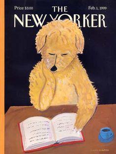 Maira Kalman – New Yorker cover by laura@popdesign, via Flickr