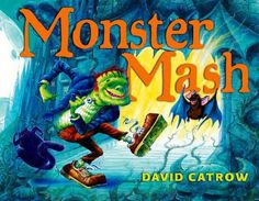 """The """"Monster Mash"""" was a graveyard smash-and now it's a picture book by David Catrow! The """"Monster Mash"""" gets Wolf Man, zombies, and other monsters to dance and party in this catchy, classic song. Halloween Books For Kids, Halloween Songs, Halloween Halloween, Preschool Halloween, Halloween Activities, Holiday Activities, Spirit Halloween, Vintage Halloween, Music Lessons For Kids"""
