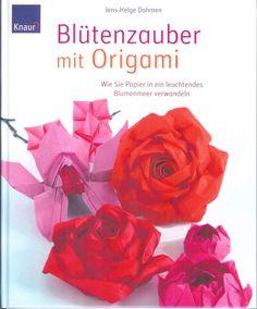 "Cover of ""Dahmen j h blutenzauber mit origami"" Origami Star Box, Origami And Kirigami, Origami Fish, Origami Stars, Diy Origami, Origami Paper, Origami Books, Oragami, Origami Design"