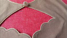 Boat neck blouse back neck design 2019 Blouse Back Neck Designs, New Saree Blouse Designs, Chudidhar Neck Designs, Neck Designs For Suits, Simple Blouse Designs, Sleeves Designs For Dresses, Stylish Blouse Design, Neckline Designs, Sari Blouse