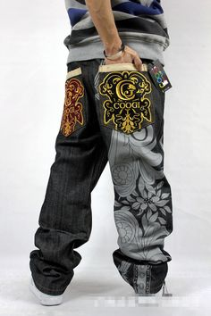 2015 Denim Sarouel Sweatpants soltas Jeans Men Hip hop Jean Hommes Stree Mens Jeans calças em Jeans de Roupas e Acessórios Masculinos no AliExpress.com | Alibaba Group