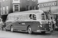 Barton Transport - The 1950s coaches. Fleet number 773, an Alexander bodied AEC Reliance