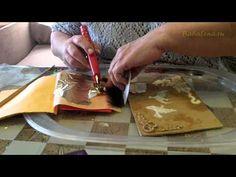 Золочение лепнины 1,2 $ лист сусальное золото Украина Киев Харьков Донецк Днепр Крым Львов - YouTube