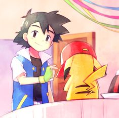Ash: To being together for 2 years Pikachu Pichu Brothers ending