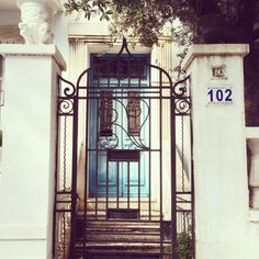 1937 : Small is beautiful ! #Nabeul #tunisia #archidaily #artnouveau #archilovers #colonial #roughiron #roughirondoor #TunisiaRising #agencyLife #hapax