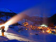 Arabba by night - Dolomiti Pic. Archvio Dolomiti SuperSki #dolomitiorg