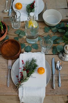 See more images from 12 must-try winter table setting ideas on domino.com