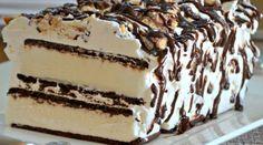 gâteau  sandwiches a la crème glacée