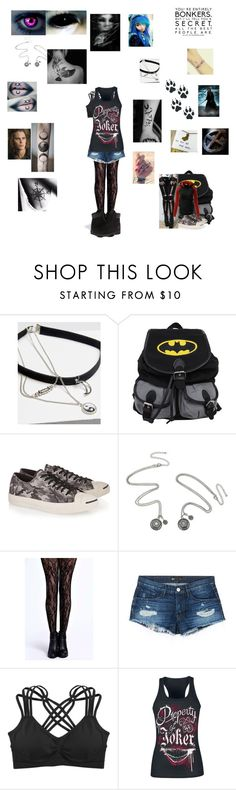 """""""X-man character"""" by dark-shadow5 ❤ liked on Polyvore featuring The Rogue + The Wolf, Wet Seal, Converse, Boohoo, Timberland, 3x1, Humble Chic and Marvel Comics"""