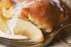 A sweet cake-like batter tops a delicious cinnamon-spiced pear filling in this easy cobbler. Try this top-rated recipe for pear cobbler.