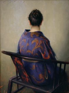 Oil Painting by Contemporary Artist Jeremy Lipking Figure Painting, Painting & Drawing, Painting Abstract, Acrylic Paintings, Grand Art, Classical Realism, Behind Blue Eyes, John Singer Sargent, California Art