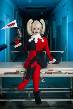 Custom Harley Quinn Cosplay Costume,Harley Quinn Costume Halloween cos - Welcome to our website, We hope you are satisfied with the content we offer. Catwoman Cosplay, Cosplay Gatúbela, Cosplay Outfits, Best Cosplay, Cosplay Girls, Cosplay Costumes, Cosplay Ideas, Raven Cosplay, Awesome Cosplay