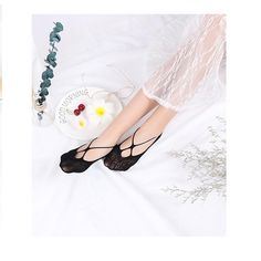 6ebb13a5b8a US 4.04 63% Women Non Slip Invisible Low-Cut Ankle Socks Hollow Out Socks