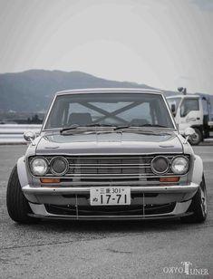 Morishita's Datsun 510 Datsun 1600, Datsun Car, Car Man Cave, Japan Cars, Fender Flares, Jdm Cars, Station Wagon, Motor Car, Subaru