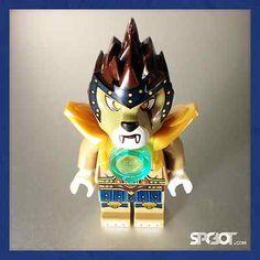 43 Razar Lego Chima Minifigur