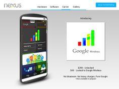 Google Nexus 2013 Concept phone