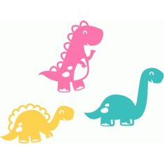 Dinosaurs Silhouette And Online Store On Pinterest