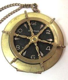 Nautical theme Pocket Watch!