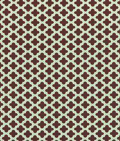 Joel Dewberry Lodge Lattice Carmel Fabric