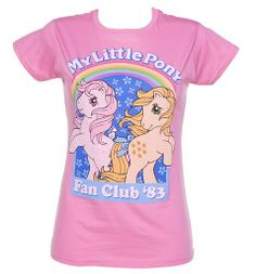 Never, as if this exists. I got my first MLP in '83. This shirt is necessary.