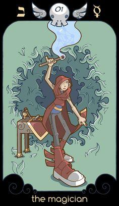THE MAGICIAN by bluefluke.deviantart.com on @DeviantArt