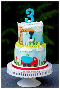 Taartjes-van-An-Nunspeet-autotaart-kindertaart-cake-cake for children
