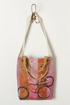 Anthropologie Wheeled Whimsy Tote Simple Bags b252ac0d330e0