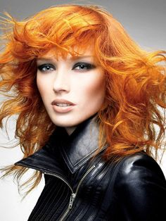 light orange hair