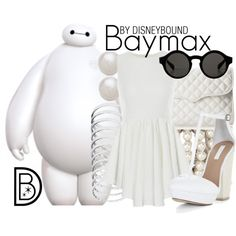 Disney Bound: Baymax from Disney's Big Hero 6 Disneybound Outfits, Disney Themed Outfits, Disney Inspired Fashion, Character Inspired Outfits, Disney Dresses, Disney Fashion, Disney Clothes, Estilo Disney, Fandom Fashion