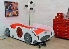 kinderbett auto aus holz 90 x 190 cm grau kinderzimmer pinterest kinderbett auto. Black Bedroom Furniture Sets. Home Design Ideas