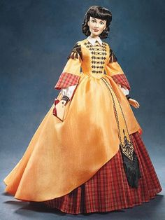 Business Woman (Scarlett O`Hara) Vinyl Portrait Doll from Gone With The Wind. Missing from my collection 6