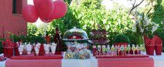 mesa decoración para las fiestas infantiles