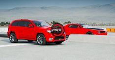 Grand Cherokee Trackhawk Races Challenger Hellcat In Forza Motorsport 7 #Dodge #Dodge_Challenger