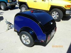 Motorcycle Pull Behind Trailer, Motorcycle Cargo Trailer, Bike Trailer, Motorcycle Camping, Small Cargo Trailers, Tiny Trailers, Can Am Spyder, Sidecar, Dune