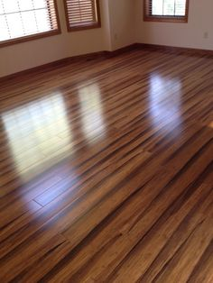 My new Brazilian Tiger Wood Bamboo floors