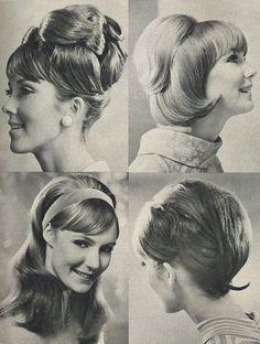 coiffure des annees 60