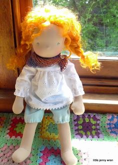 Little Jenny Wren ... ♥♥♥ ... life and dolls: Annie, looking for a home