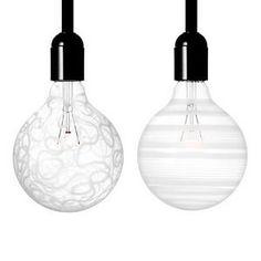 light shadows bulbs by orrefors